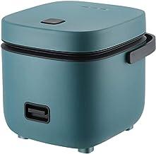 1.2L draagbare mini-rijstkoker, elektrische rijstkoker met stoom- en spoelmand, anti-aanbaklaag, 15 minuten snel koken, op...