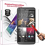 PThink 2.5D Round Edge 0.3mm Ultra-Thin Tempered Glass Screen Protector for HTC Desire 816 with 9H Hardness/Anti-Scratch/Fingerprint Resistant (HTC Desire 816)
