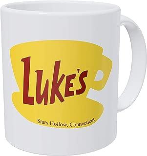 Thinker Art Funny coffee mug - 11OZ Ceramic - Luke's Diner. Best gift or souvenir.
