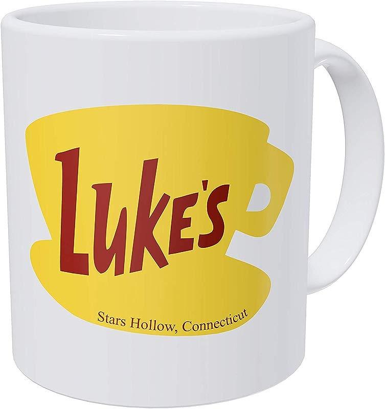Thinker Art Funny Coffee Mug 11OZ Ceramic Luke S Diner Best Gift Or Souvenir