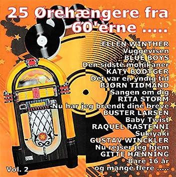 25 Ørehængere fra 60'erne Vol. 2