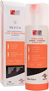 DS LABORATORIES Revita Hair growth Stimulating Shampoo (205ml), 7 Fl Oz