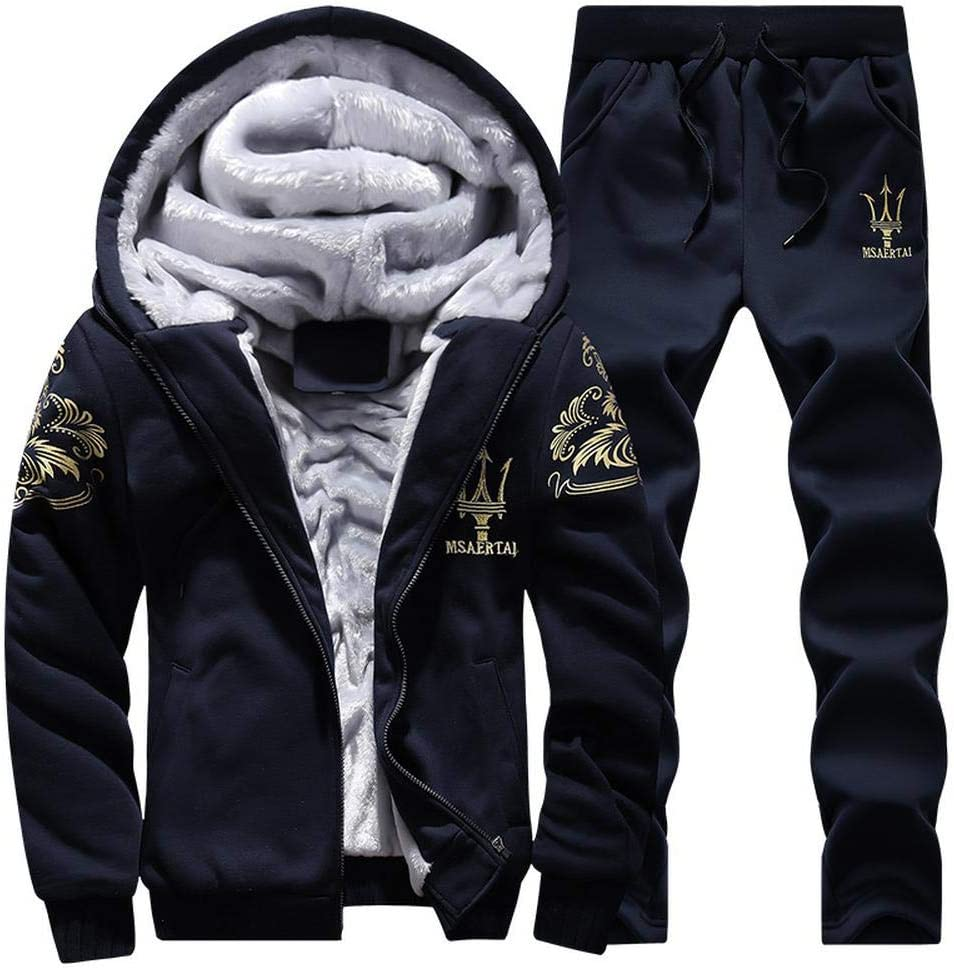 Great interest Mens Tracksuits Set Winter Casual Top Ranking TOP8 Bott Jogging Sports Hoodie
