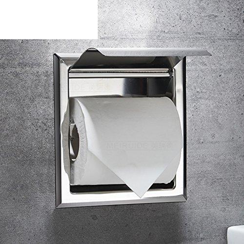 Edelstahl Handtuchhalter/Unterputz-kasten/Regal Von Wc-papier Für Badezimmer-A