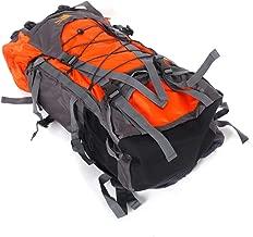 ZEYI Free Knight SA008 60L Outdoor Waterproof Hiking Camping Backpack Orange