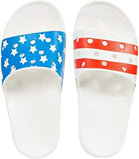 Classic American Flag Slide White/Multi Men's 4, Women's 6