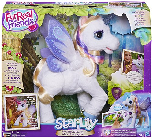 Hasbro FurReal Fur Real Friends B0450103 StarLily Magico Unicorno Peluche Interattivo