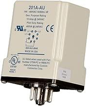 Symcom MotorSaver 3-Phase Voltage Monitor, Model 201A-AU, 190-480V, Variable Trip Point, Restart Delay, Trip Delay, and Voltage Unbalance, 8-Pin Octal Base