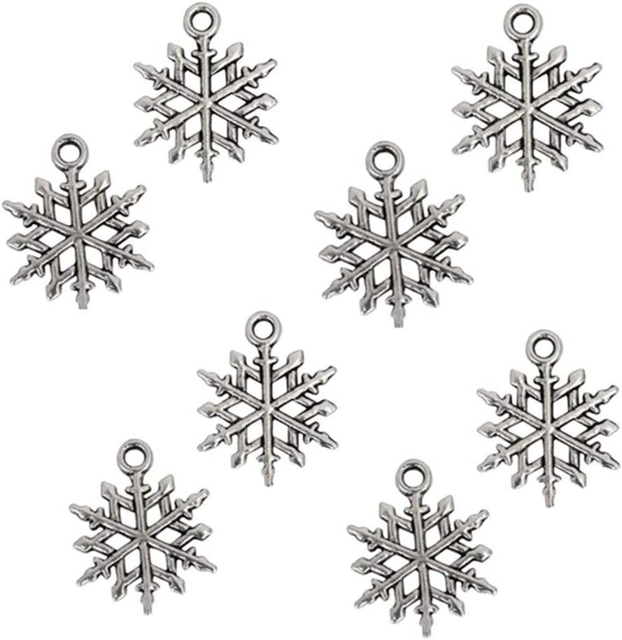 BULK 20pcs Aunt/'s First Christmas Charm Antique Silver Great Auntie Snowflake Snow Winter December Holiday Tree Family Memory Pendant #1613