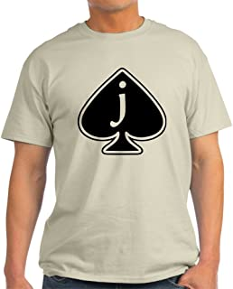 CafePress Jack of Spades 100% Cotton T-Shirt, White