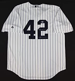 Mariano Rivera Pinstriped New York Yankees Jersey - Hand Signed By Mariano Rivera and Certified Authentic by Beckett - Includes Certificate of Authenticity