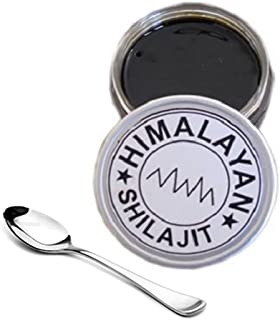 10 Grams of Real Shilajit - Asphaltum - Purified Mineral Pitch - The Purest, Strongest Resin Ship Straight From 16,000 Feet to You - 10-Grams
