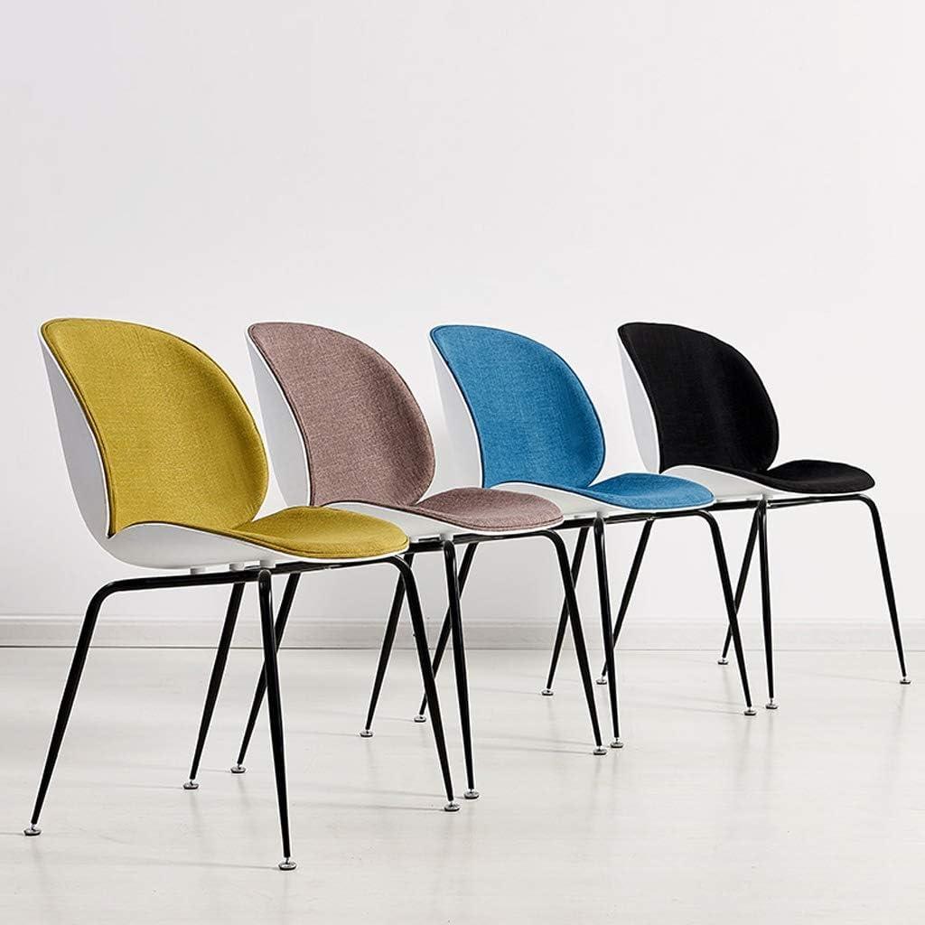 SLL- Chaise de Salle, Chaise de Bureau Simple, créative Dossier, Chaise Loisirs, Maison Adulte Chaise de Salle Moderne (Color : Green) Green