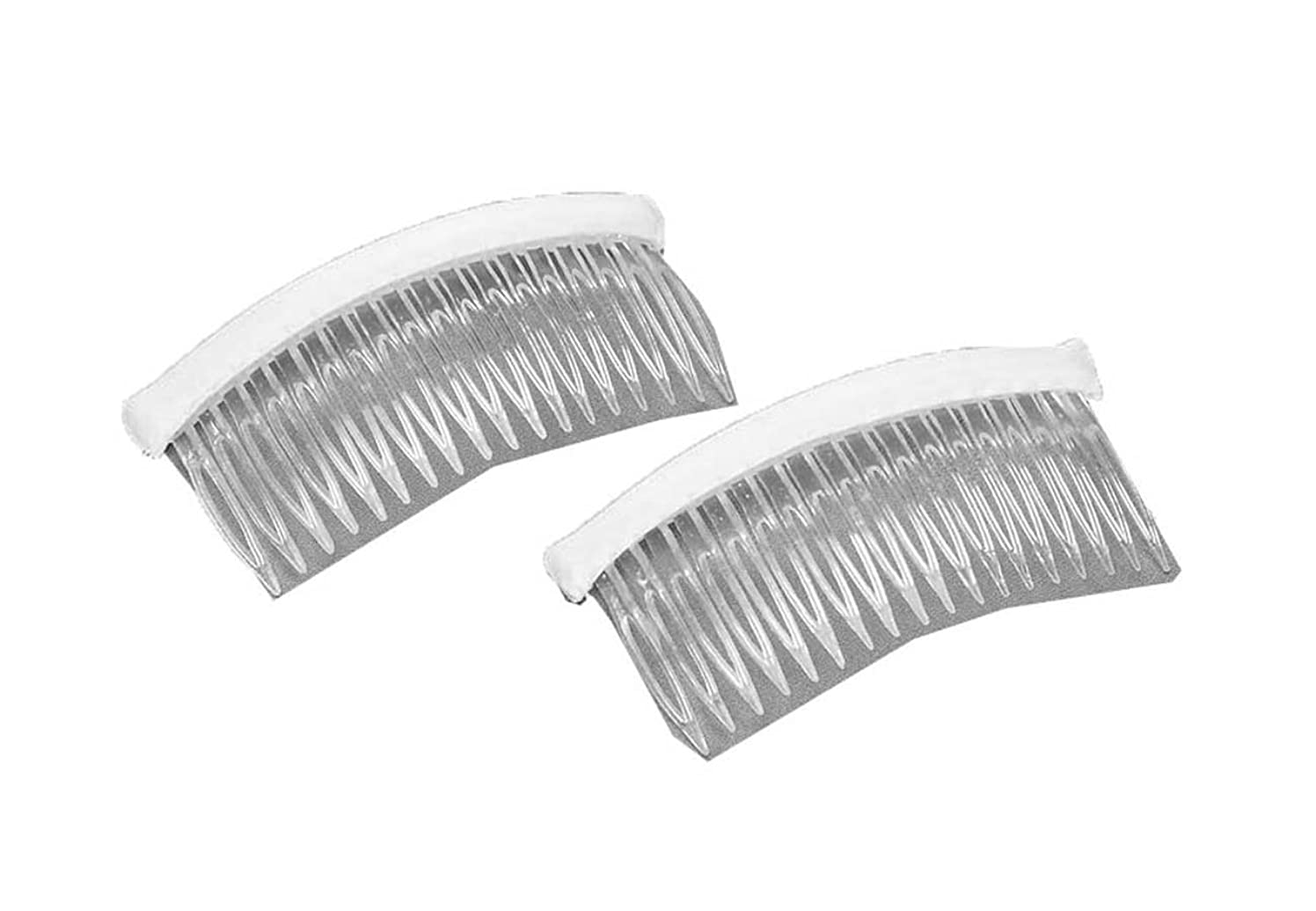 Darice VL5628, Fab Edge Haircomb Plastic 4-Inch, 2-Piece