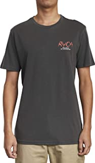 RVCA Men's Parker Short Sleeve Crew Neck T-Shirt