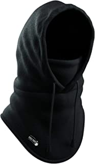 Self Pro Balaclava Thermal Fleece Hood, Wind-Resistant Ski Mask - Heavyweight Cold Weather Winter Motorcycle, Ski & Snowboard Gear - Ultimate Protection from The Elements