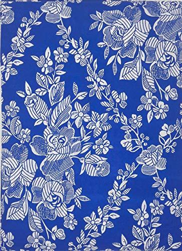 Export Trading - Coprimaterasso, Colore: Blu, 090 cm
