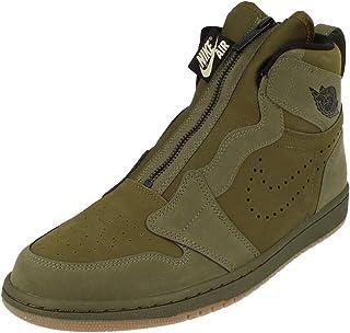 Nike Air Jordan 1 High Zip Mens Hi Top Basketball Trainers Ar4833 Sneakers Shoes 300