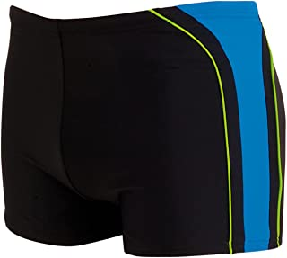 Zoggs Men's Aqualast Boston Bay Hip Racer Swim Shorts
