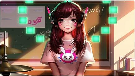 Beyme Alfombrilla de ratón Profesional para Videojuegos, diseño Personalizado con Bordes cosidos, Impermeable, Base de Goma Antideslizante, Ideal para portátil, computadora y PC