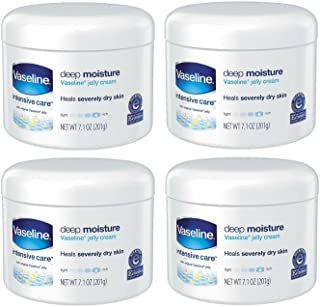 Vaseline Intensive Care Deep Moisture Jelly Cream 7.10 oz (4 Pack)