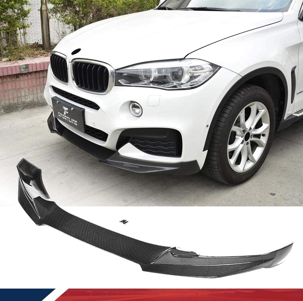JC SPORTLINE Carbon Fiber Chin Spoiler BMW xDriv San Francisco Mall Store for fits F16 X6