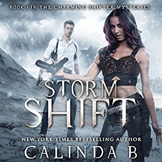 Storm Shift audiobook cover art