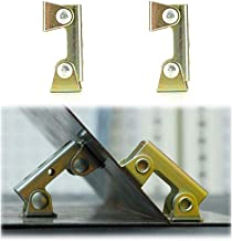 XINdream V Type Welding Clamps, 2 PCS Holder Suspender Fixture Adjustable Pads Magnetic Tab Durable Hard Stainless Steel S...