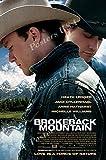 MOV747 Filmposter USA Brokeback Mountain mit glänzender