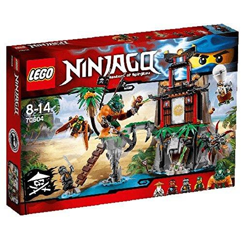 LEGO Ninjago 70604 - Schwarze Witwen-Insel
