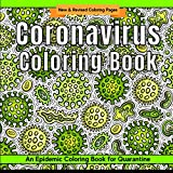 Coronavirus Coloring Book: Epidemic Coloring Pages for Quarantine | Covid 19 Creative Coloring | Slime Green (Quarantine & Chill)