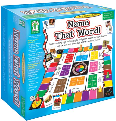 Name That Word (Early Learning Games)