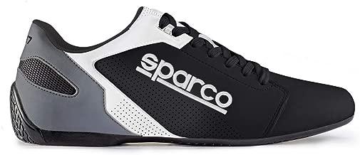 SPARCO (スパルコ)ドライビングシューズ SL-17 サイズ/42 カラー/BLACK/WHITE 00126342NRBI