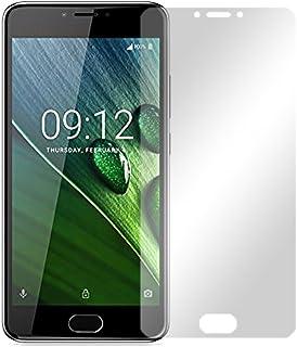 Slabo 2 x displayfolie för Acer Liquid Z6 Plus displayskyddsfolie tillbehör Crystal Clear KLAR