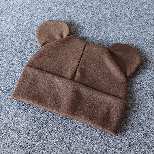 Cappello da bambino con orecchie in cotone caldo accessori per neonato bambina ragazzo autunno inverno cappello per bambini neonato bambino berretto berretto ragazze cappello-a14-0-12 months