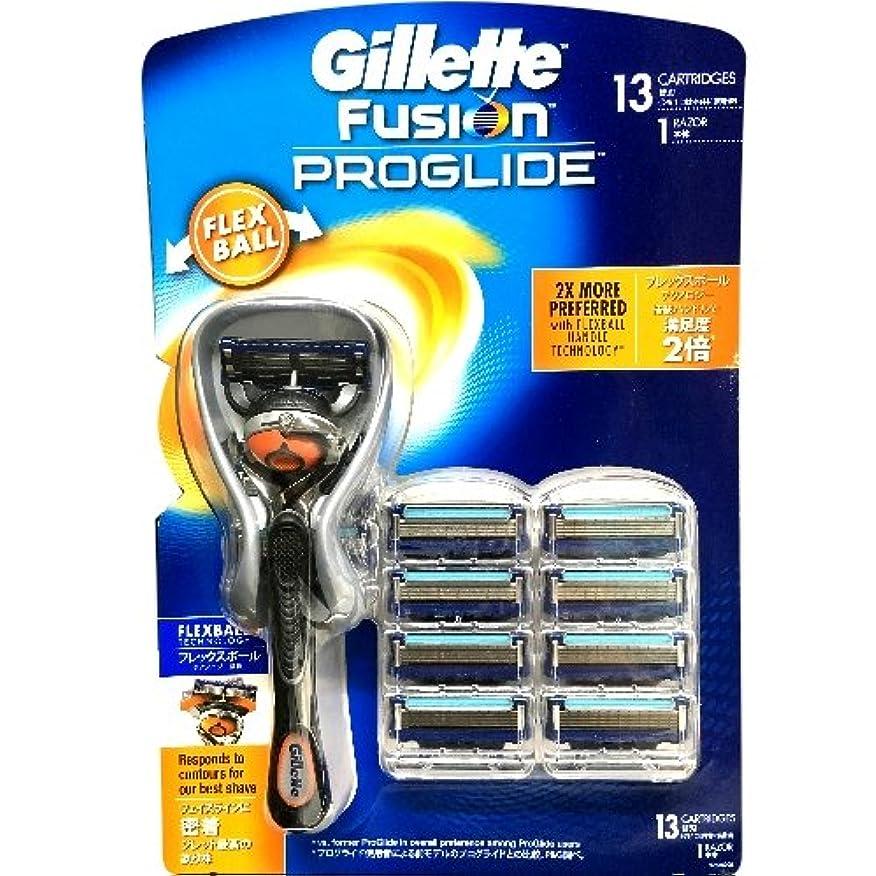より良い伝統発掘するGillette Fusion PROGLIDE ジレット フュージョン プログライド フレックスボール マニュアル ひげ剃り シェーピング 替刃13コ