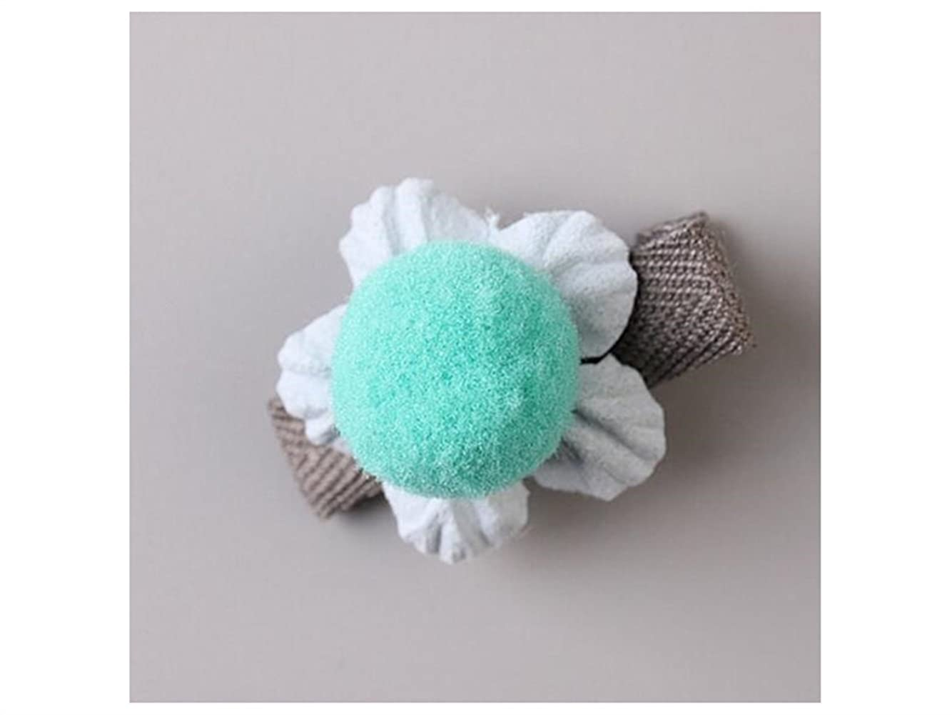 ペスト専門知識レパートリーOsize 美しいスタイル 小さな花のヘアクリップ子供のかわいいサイドクリップヘアピンフラワーヘッドドレス(ブルー)