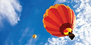 Hot Air Balloons - 2ft x 4ft Drop Ceiling Fluorescent Decorative Ceiling Light Cover Skylight Film