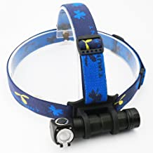 SkilHunt H03F High Power Cree LED Headlamp for Outdoor Sports, Hands-free Camping Waterproof Headlight, Detachable Headlamp, Brightness Cool light Flood Lens and Reflector Spot