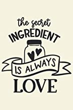 the secret ingredient My Favorite Recipes: Blank Recipe Book Journal   Personalized Recipe Book   Blank Recipe Organizer F...