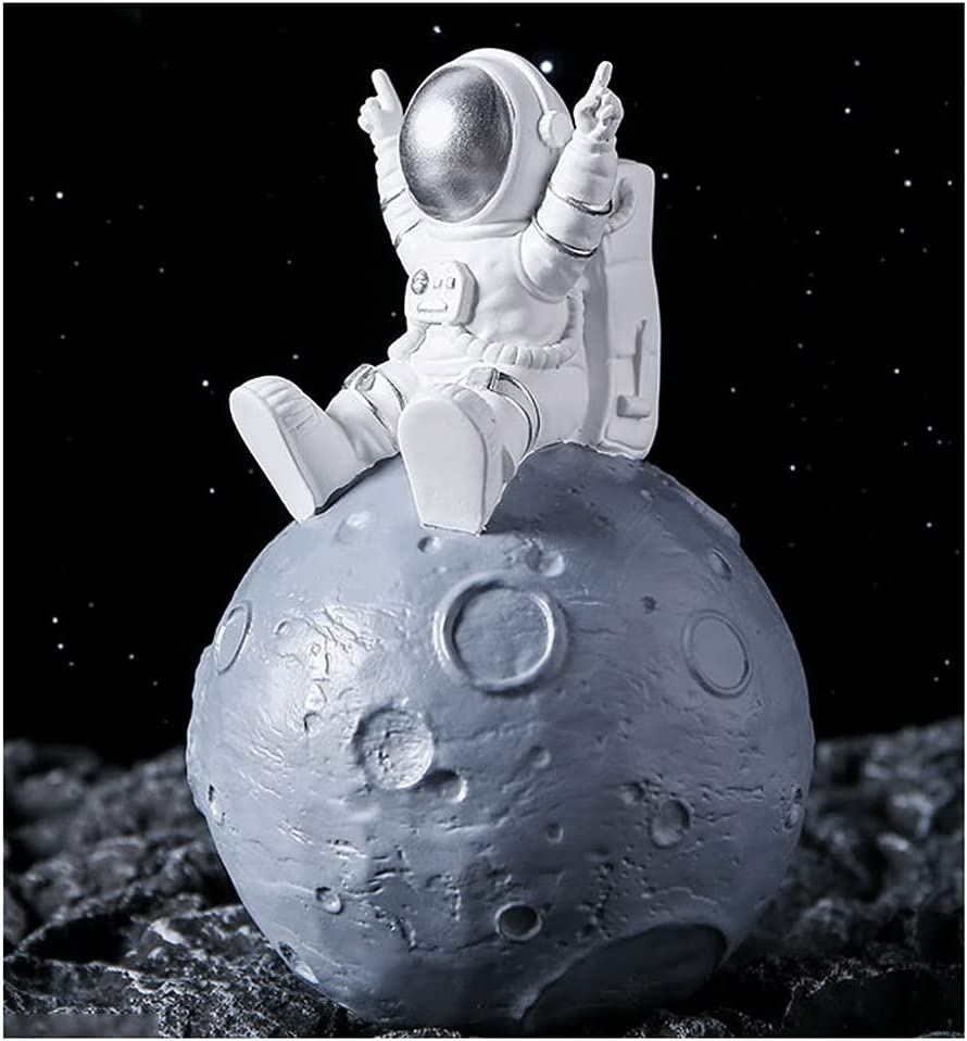YHYH Golden Rocket Piggy Quality inspection Bank Ceramic Astronaut Banks Max 67% OFF Coin Funny