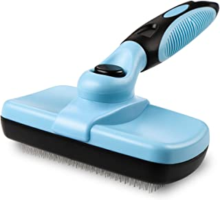 Blisscorner Dog Grooming Brush, Self Cleaning Slicker Cat Brush/ Dog Brush for Shedding and Grooming, Deshedding Brush for...