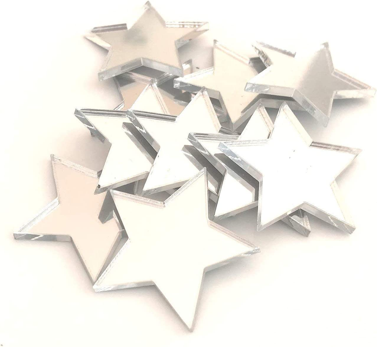 Super Cool Creations Star Shaped Crafting Mirrors Trust 10 Ma of Set Limited price sale