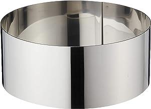 "RedMan 1874 Round Cake Ring, 7 x 3"", Silver"