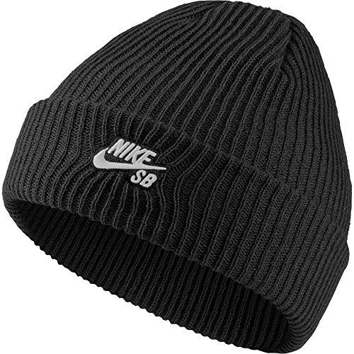 Nike U Nk Beanie Fisherman, Cappellino Unisex-Adulto, Black/(White), MISC