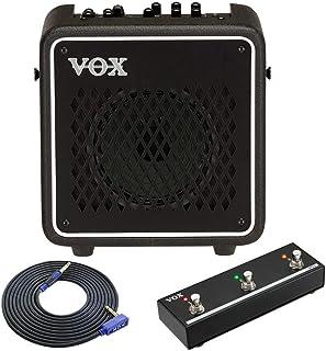 【ケーブル/VGS-30+フットスイッチ/VFS3付】VOX ヴォックス VMG-10 MINI GO 10 モバイルバッテリー駆動対応 モデリングアンプ