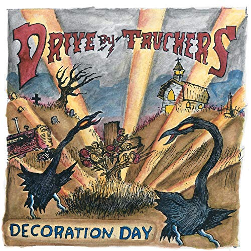 Album Art for Decoration Day Drive-By Truckers - Decoration Day (CLEAR WITH GOLD SPLATTER VINYL, LIMITED EDITION) by Drive-By Truckers