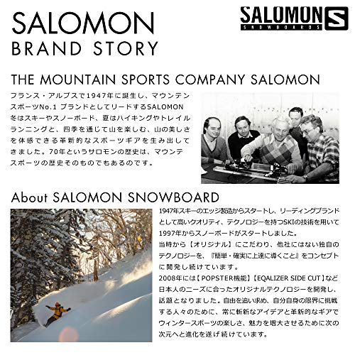 SALOMON(サロモン)スノーボードブーツメンズSYNAPSE(シナプス)2019-20年モデルL40689800Otter/Black/GreenGables27.5cm