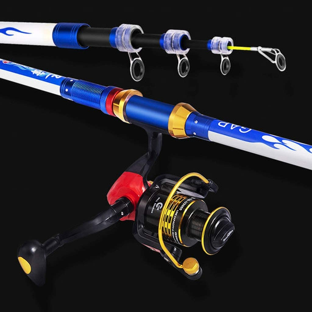 dhcsf Fishing Rod and Free Shipping Cheap Bargain Popular popular Gift Reel Combos Set Comb Throwing Pole Sea