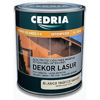 Luminos LUM1100 Lasur Protector Madera, Blanco Provenza: Amazon.es: Bricolaje y herramientas